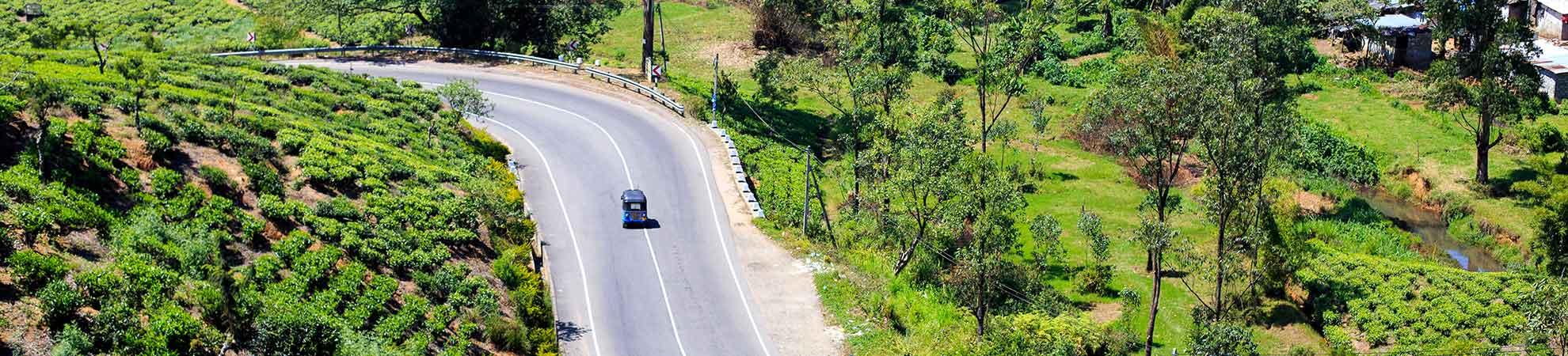 Aller au Sri Lanka en voiture
