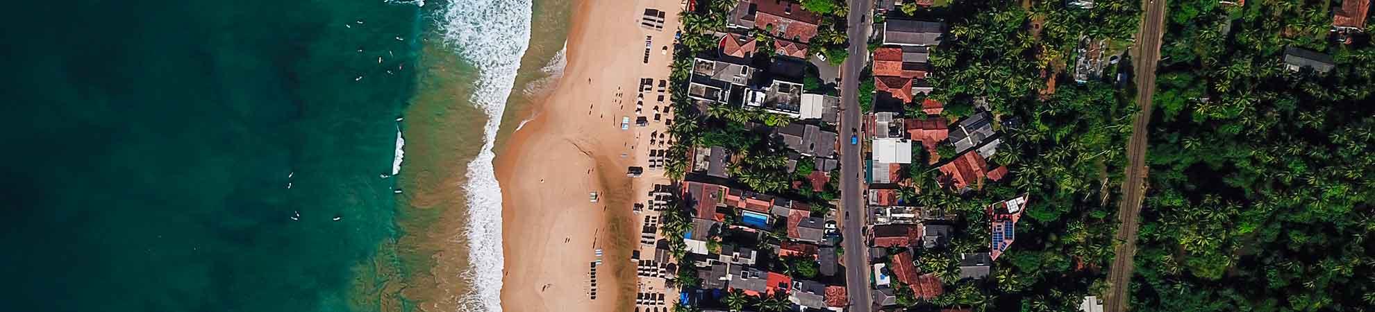 Se rendre au Sri Lanka