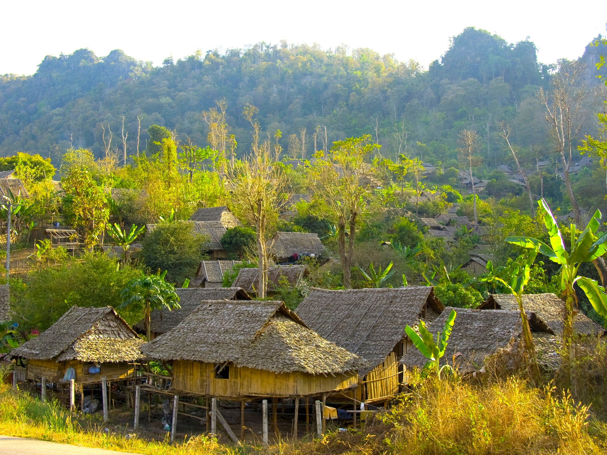 Rencontres au gré des villages birmans