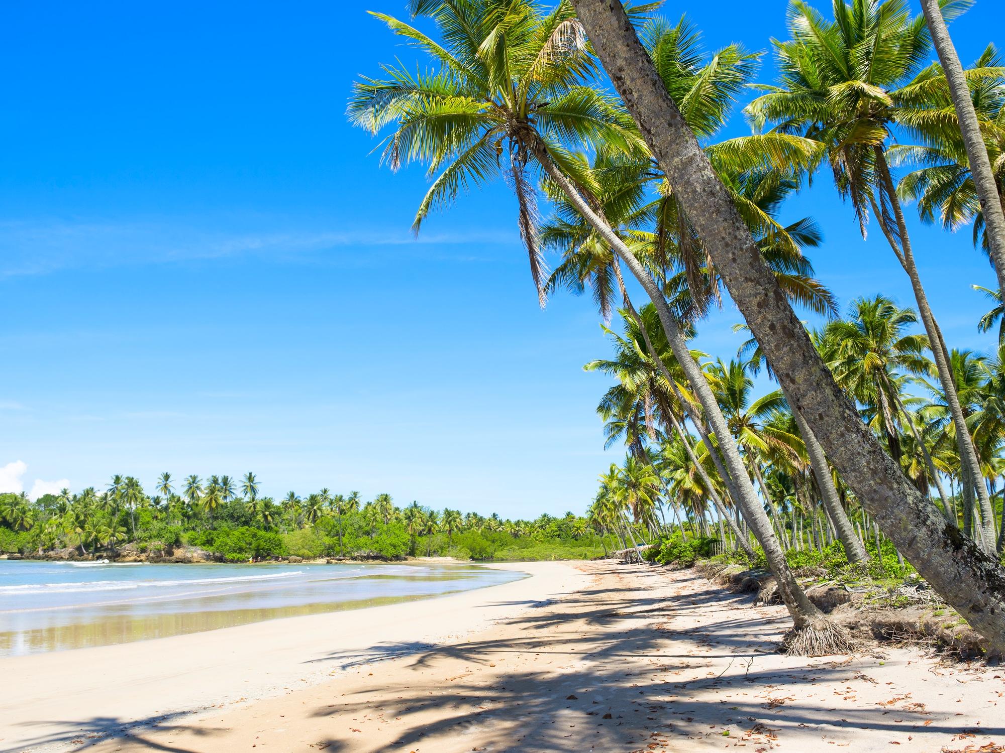 Grand cap vers les plages brésiliennes