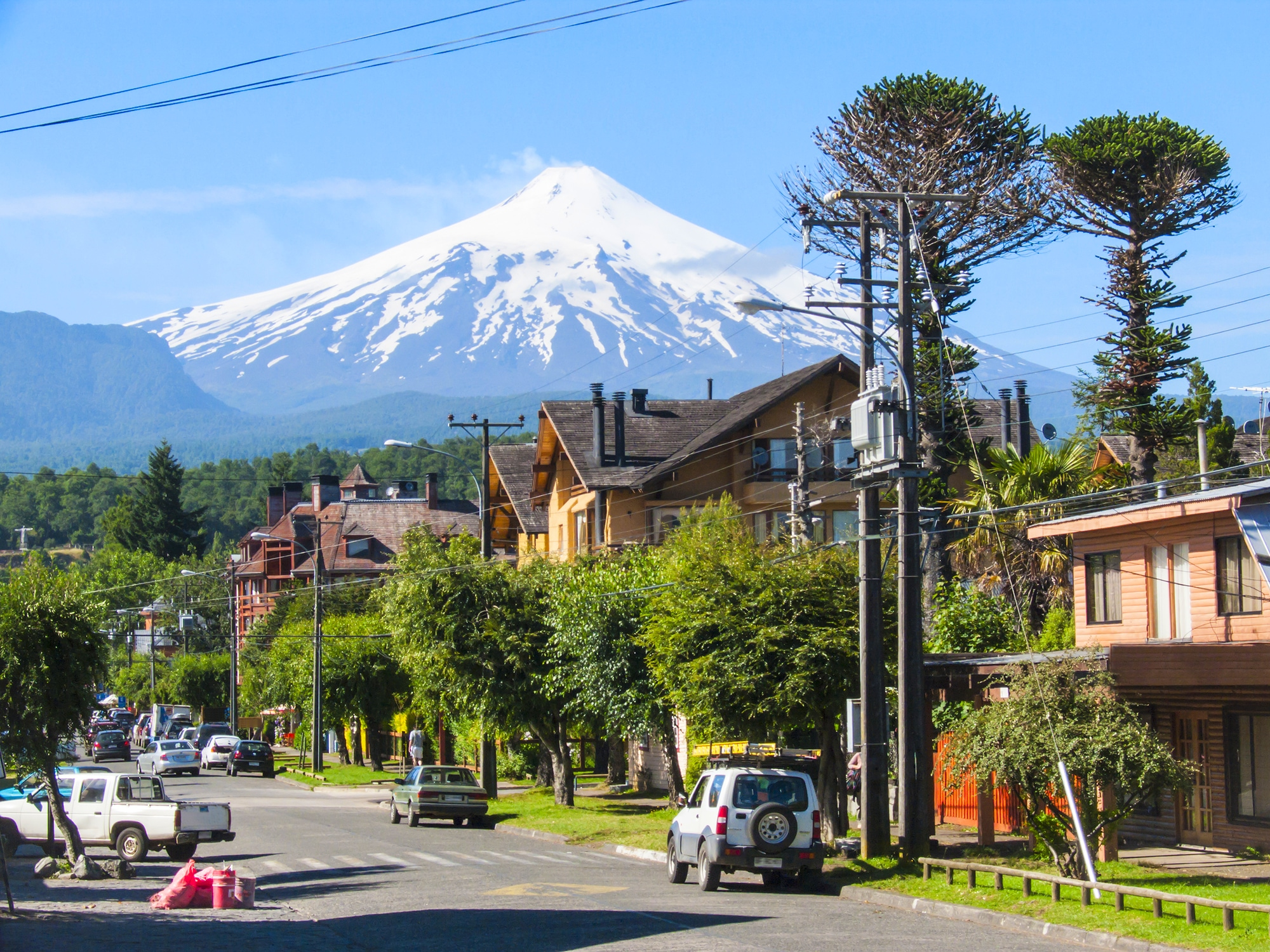 Le Chili, Grandeur nature