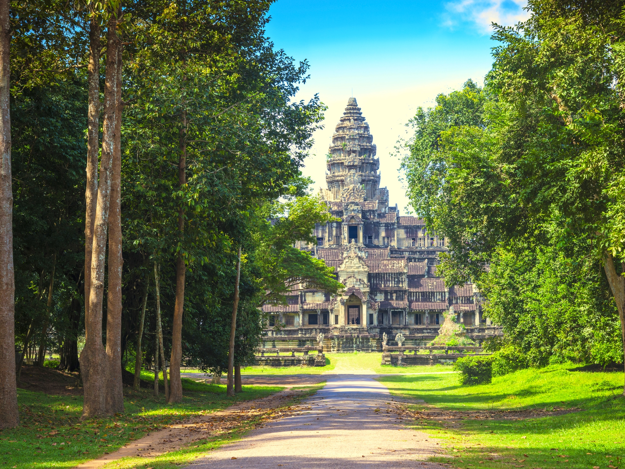 Premiers pas au Cambodge