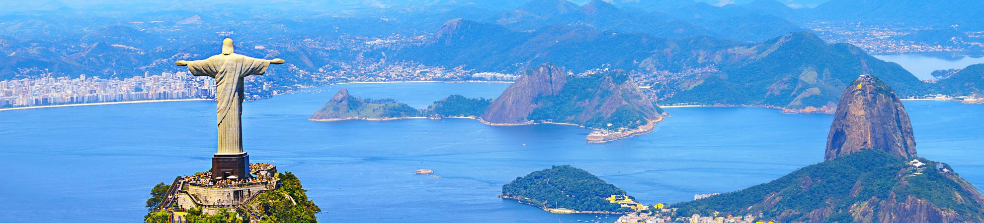 Pays Brésil et Rio