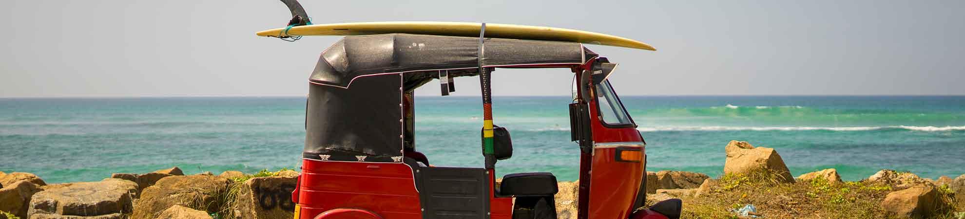 Se déplacer pendant votre séjour au Sri Lanka