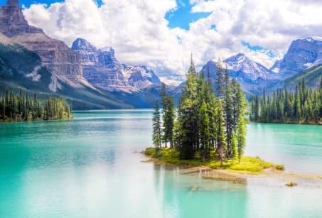 Dans les Parcs des Rocheuses Canadiennes