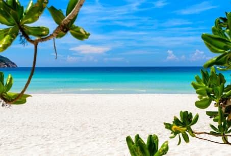 Les plages de la péninsule malaise