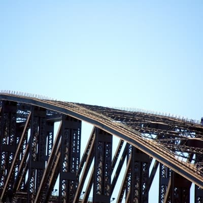 Au sommet d'Harbour Bridge