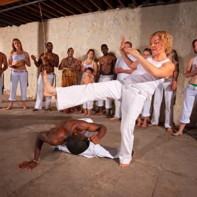 Cours de capoeira