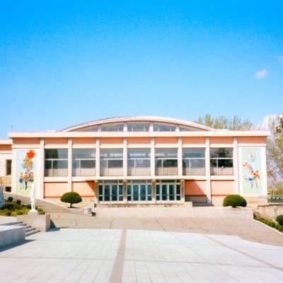 Visite du palais des écoliers de Mongyongdae