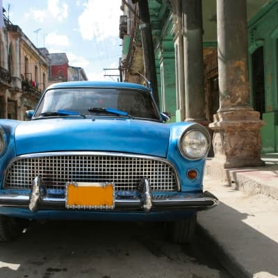 La Havane Moderne en vieille américaine