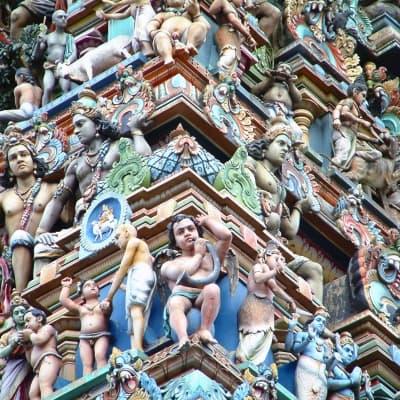 Excursion au palais de Krishnapuram