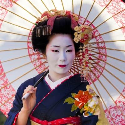 Spectacle Miyako Odori à Kyoto