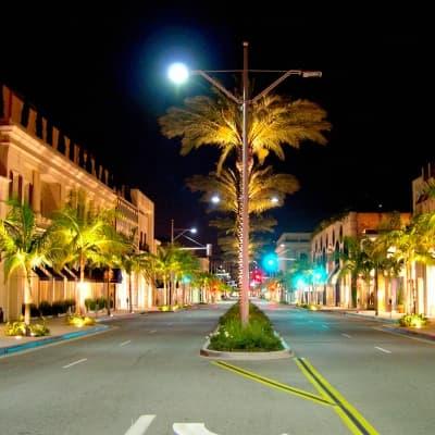 City Tour de Los Angeles de nuit
