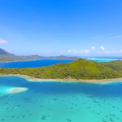 Découverte de Tahiti en hélicoptère