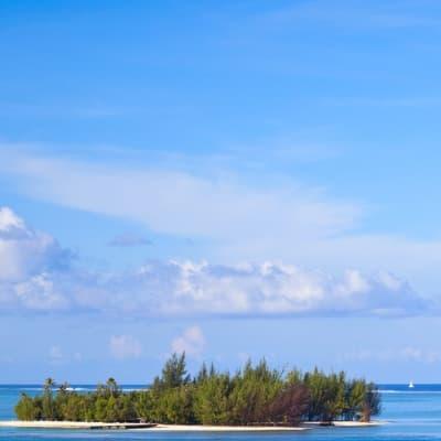 Excursion bateau pour les sables roses avec piquenique sur un motu