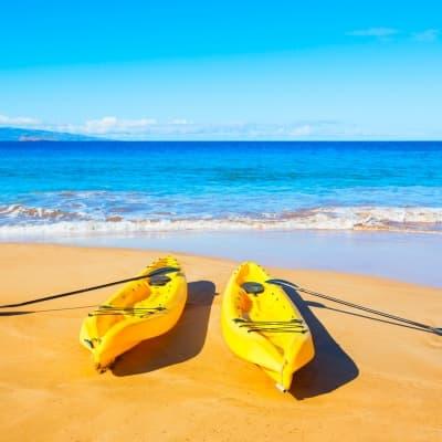 Faire du Kayak pour découvrir Hawaï