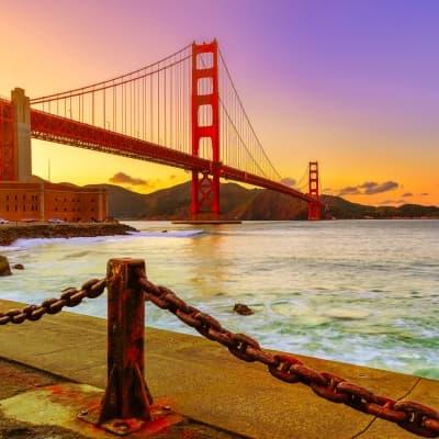San Francisco et son Golden Gate
