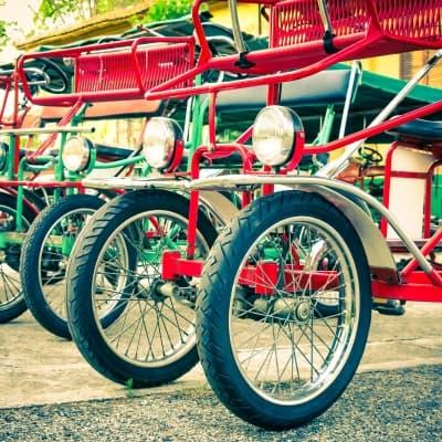 Balade en cyclo-pousse