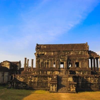 Siem Reap en Vespa