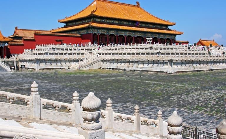 Ballade sur la Place Tian'an Men et la Cité  interdite