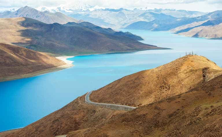 Le Lac Yamdrok et visite de la ville