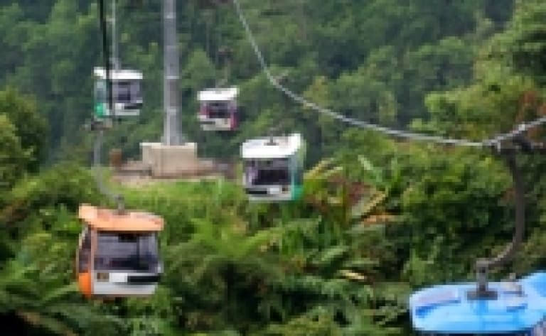 Cable-car à Langkawi