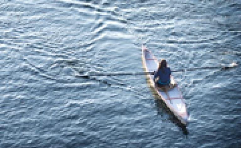 Kayak sur le Lac Titicaca