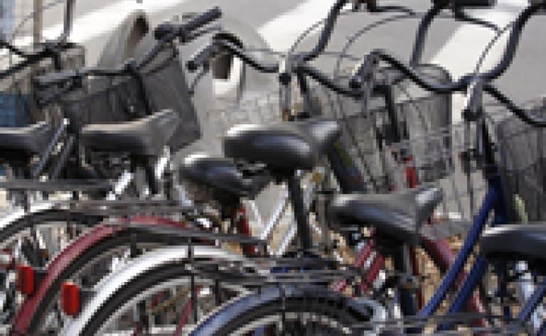 Vélo à Kyoto