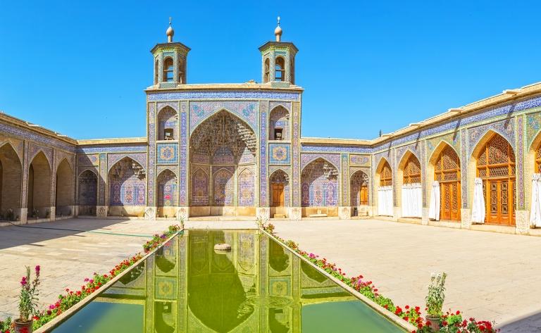 Shiraz, une poésie persane…