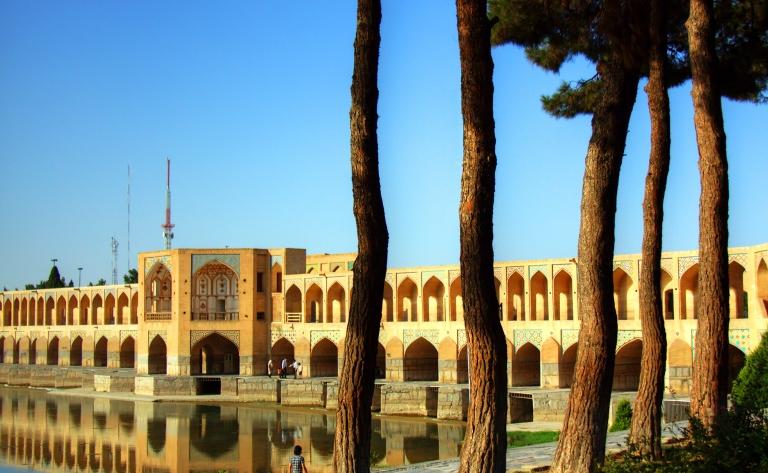 Ispahan, sur un air d'Iran…