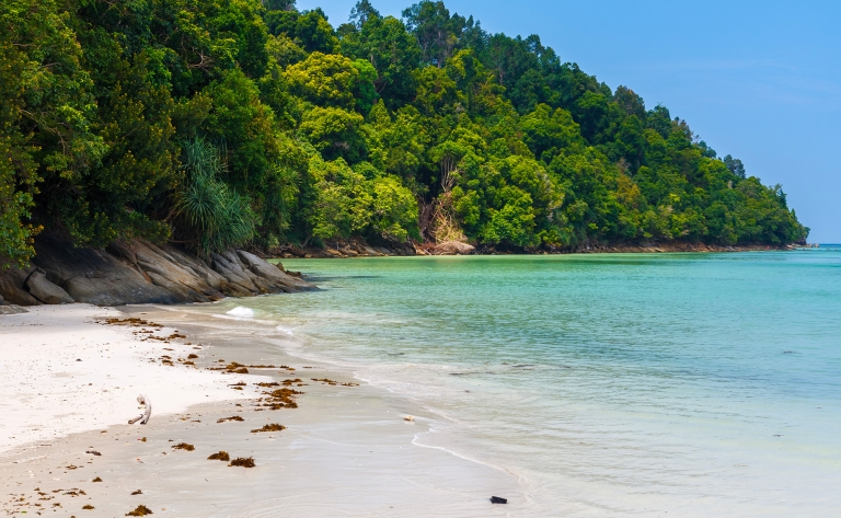 Pulau Gaya : plages blanches et fonds sous-marins
