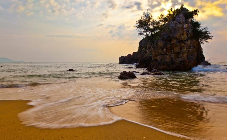 Derniers instants sur le sable fin