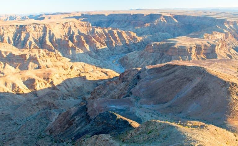 Survol du Canyon