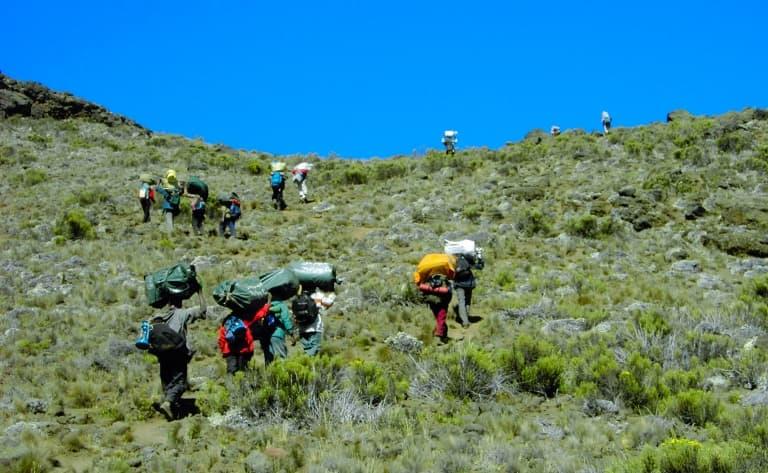 Camp Machame Hut (3050m)