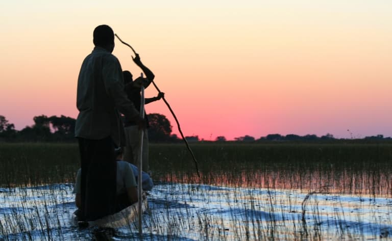 Tableaux légendaires du Botswana