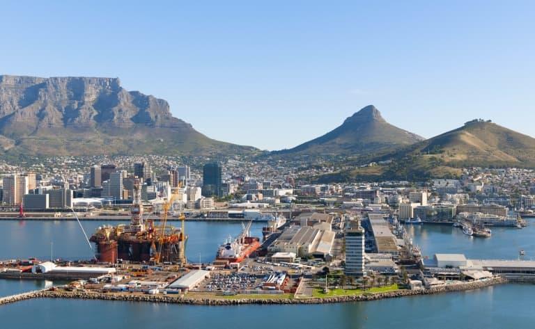 Une ville surprenante Cap Town