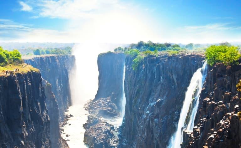 Et au milieu coule le Zambèze