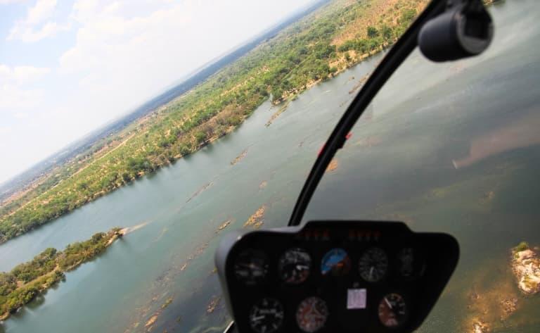 Les paysages grandioses de la vallée du Zambèze