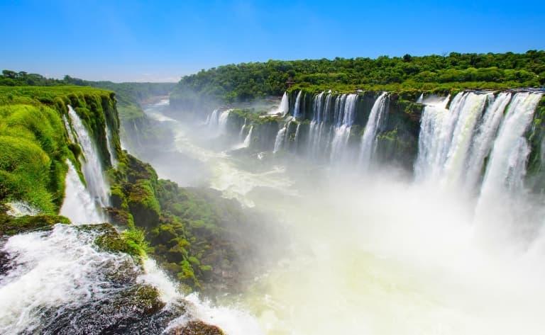 Survol des chutes d'Iguazu en hélicoptère