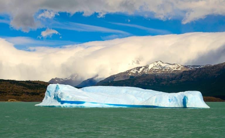 Parc national los Glaciares et les glaciers Upsala et Onelli