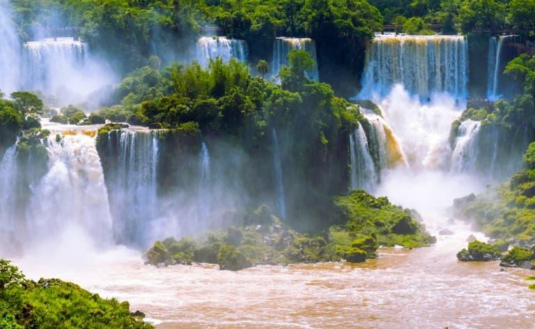 Les chutes d'Iguaçu côté Brésilien