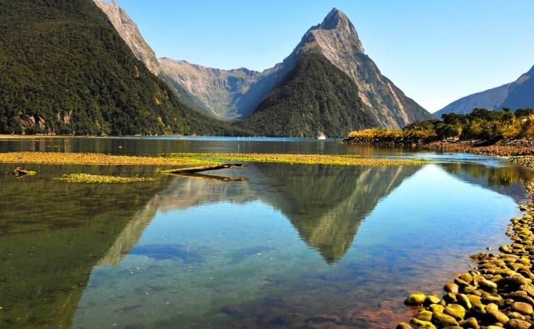 Au cœur du fjord Doubtful Sound
