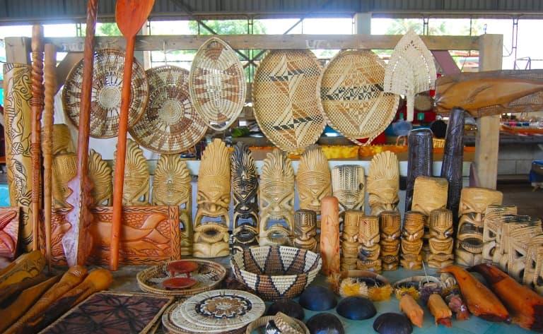 Flâneries au marché animé de Darwin