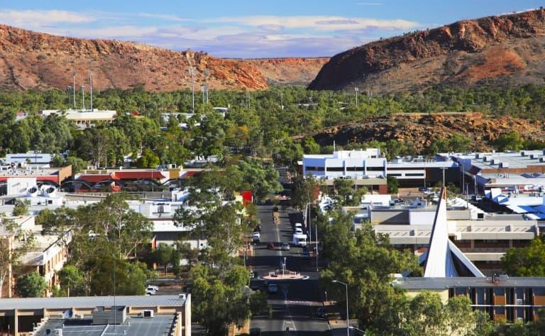 Au centre de l'Australie, il était une ville…