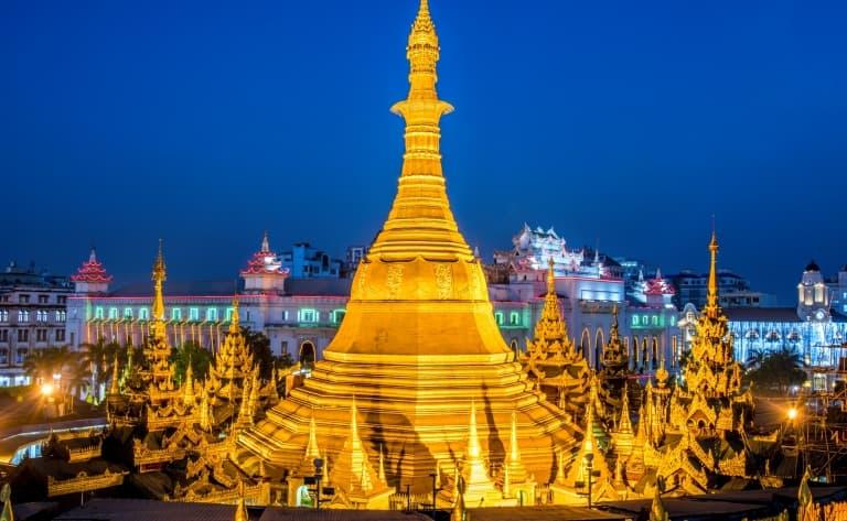 Arrivée et découverte de Yangon