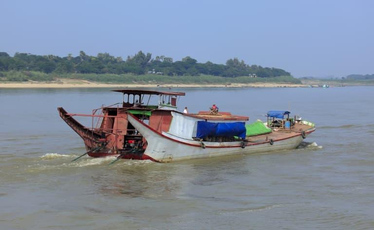 Traversée du Delta de l'Irrawaddy