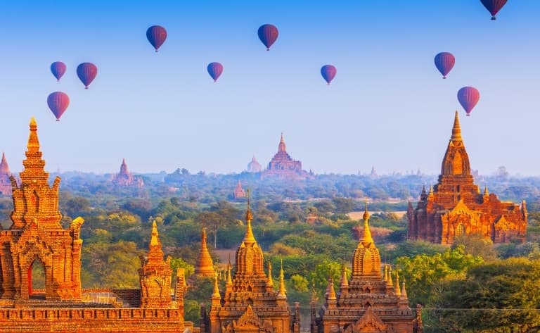 Les Pagodes de Bagan