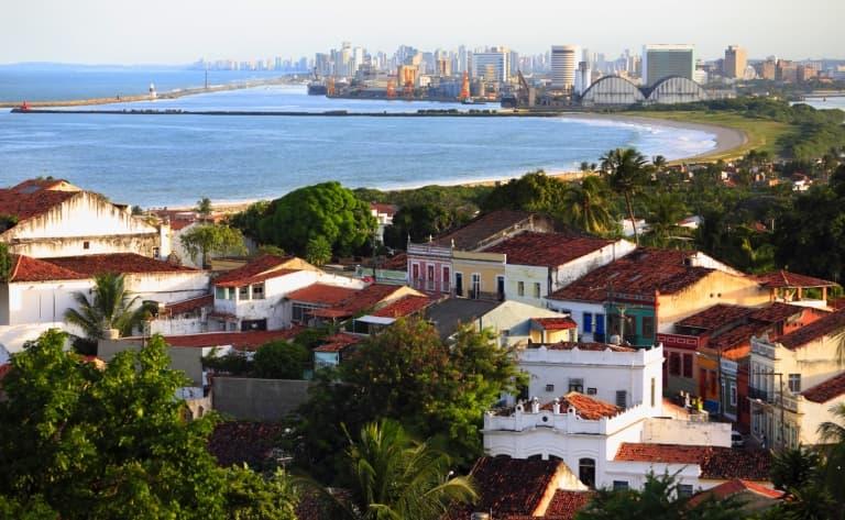 Visite de Recife et d'Olinda