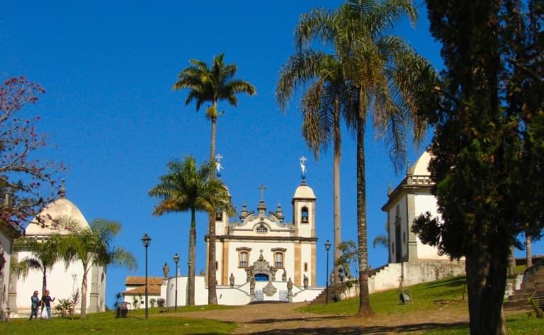 Visite d´une journée de Congonhas, São João del Rei et Tiradentes
