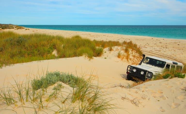 En 4x4 dans les dunes
